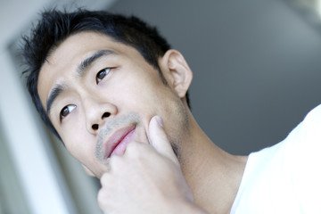Image result for asian man thinking
