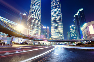 China Shanghai modern city construction