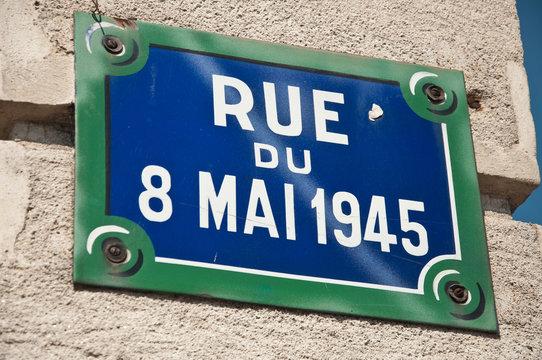 rue du 8 Mai 1945