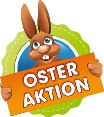 Button Osteraktion orange