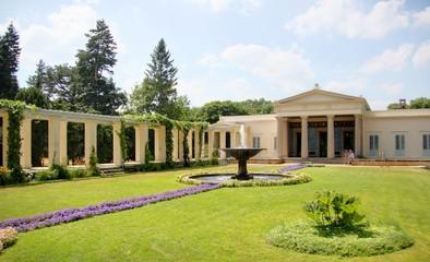jardin d'un chateau allemand