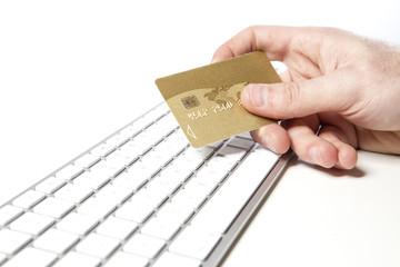 Achat sur Internet - concept e-commerce