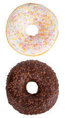 Isolated donuts set