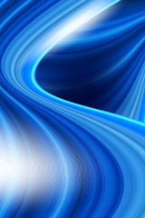 colorful smooth twist light blue wave background