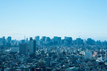 Foto auf AluDibond Tokio スカイツリータワーからの景色