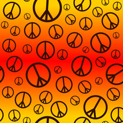 Peace Sign Background