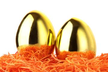 Eier aus Gold