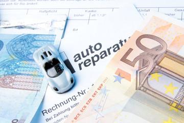Autos kosten Geld
