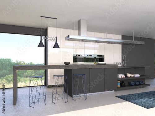 moderne offene küche\