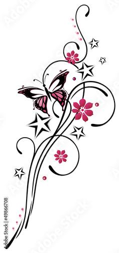 Tattoos Blumen Und Schmetterlinge Blumen Und Schmetterlinge 2019 01 10