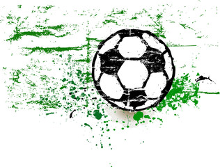 Soccer / Football design element ,free copy space, vector