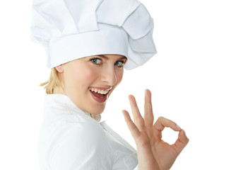 Chef baker or cook