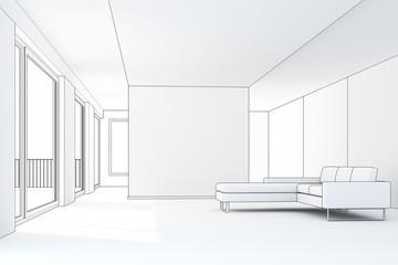Loft 1 3D CAD Rendering