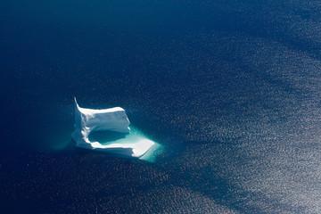 Iceberg aerial