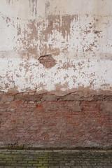 Wall Mural - Zerbröselnde Klinkerwand