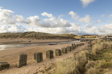 Wall Mural - Cruden Bay Beach Photo