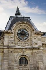 Paris Orleans Station Clock, Paris, France