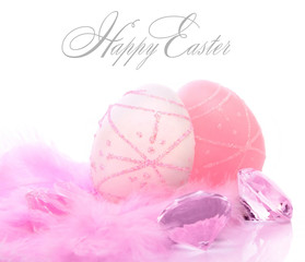 Easter eggs and diamonds
