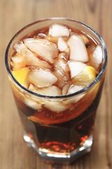 Cola - Blick ins Glas