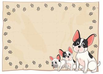 The three puppies