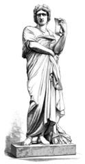 Ancient Roman Statue : Patrician