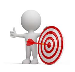 3d person - success target