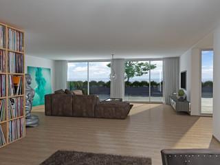 Luxus Immobilie Wohnzimmer