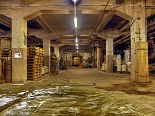 Lost Places - Halle im Filterwerk Meißen