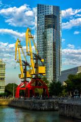 Puerto Madero Crane