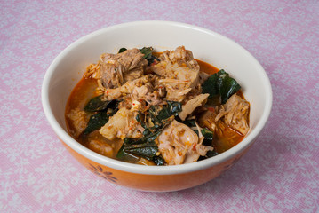 Green Jackfruit Curry, Kaeng Khanun