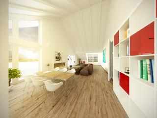 Penthouse Dachgeschoß Immobilie Galerie