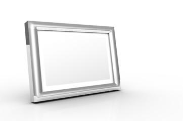 Aluminium Bilderrahmen Silber