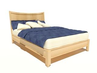 Modernes Bett 7