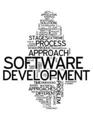 """Word Cloud """"Software Development"""""""