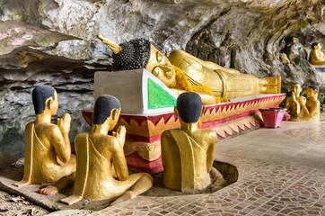 Reclining Buddha - Elephant Cave, Vang Vieng