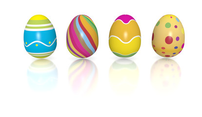 Colorfull eggs