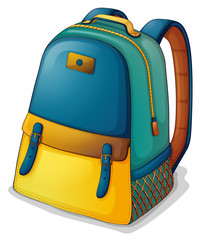 A colorful back pack