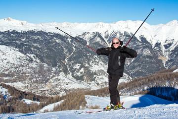 Plaisir de skier (homme 40s) #2