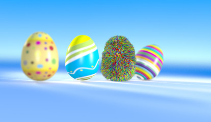 Colorfull Funny Eggs