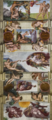 Wall Mural - sixtinische Kapelle Rom
