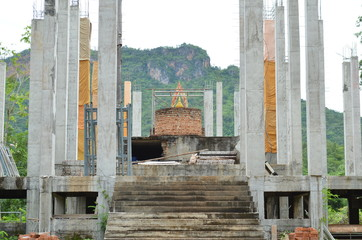 buddha construction