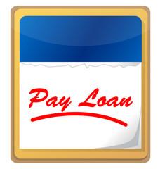 pay loan calendar icon