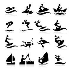 Water Sport Icons
