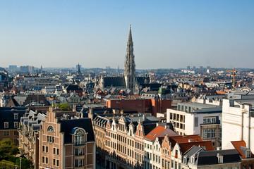 Foto op Aluminium Brussel Brussels Panorama