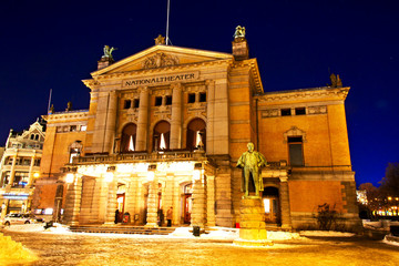 National theater Oslo