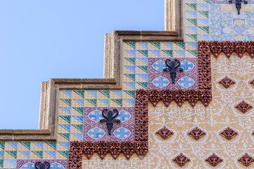 Casa Amatller facade designed by Josep Puig i Cadafalch.