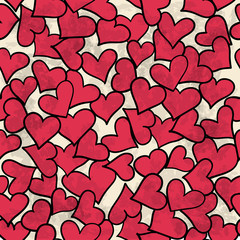 Can be used as background for Valentine's Day, webpage, fabric
