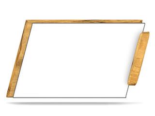 Schild / Tafel - 3D