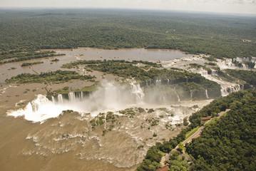 Iguassu Falls Aerial View