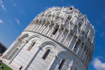 tour de pise, baptistère et cathédrale